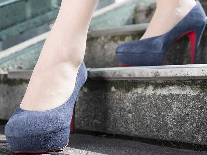 美脚をつくる階段の降り方