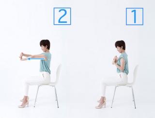 手首や指が疲れたら実践!オフィスでできる簡単ストレッチ