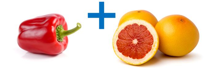 赤パプリカ              グレープフルーツ