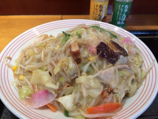 キャベツ1.5倍、野菜367グラムの迫力。麺が見えない「野菜たっぷり皿うどん」で今日のランチ決定! #Omezaトーク