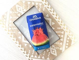 夏まで待てない!「CHABAA」のスイカ100%ジュースが新発売 #Omezaトーク