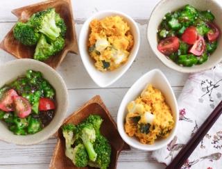 あっという間に3品できちゃう! 便利すぎる「冷凍野菜」でつくる簡単副菜レシピ♪ #明日の朝ごはん