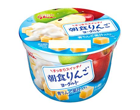 江崎グリコの朝食りんごヨーグルト