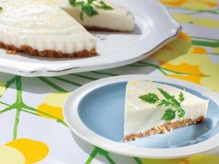 チーズケーキ寒天の完成イメージ
