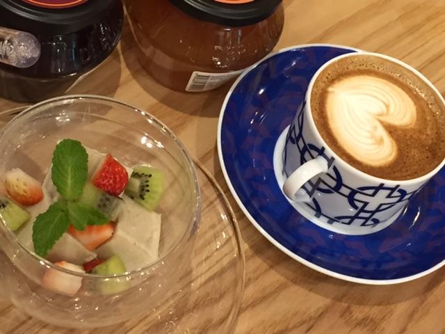 ダブルトールカフェのコーヒー