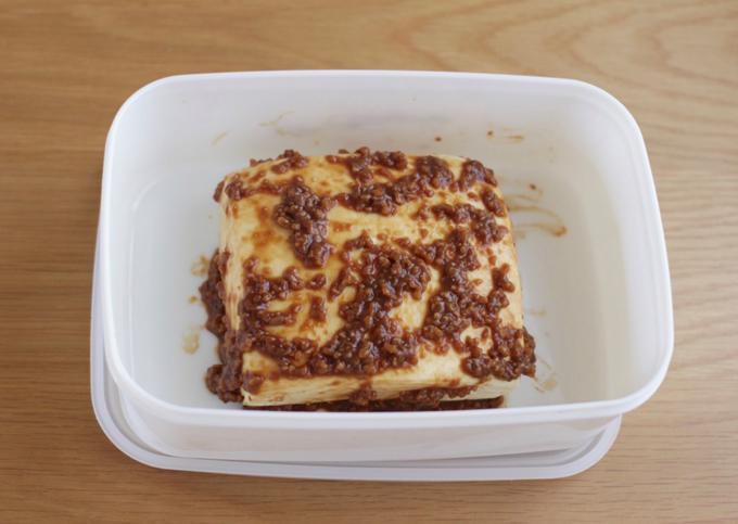 しょうゆ麹豆腐のつくり方