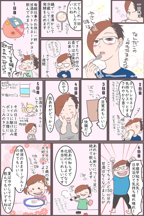甘酒漫画3