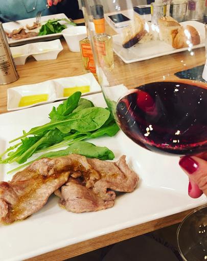 オーガニックワインとお料理
