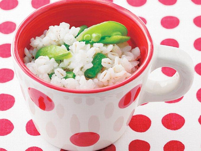 豆麦ごはんの完成イメージ