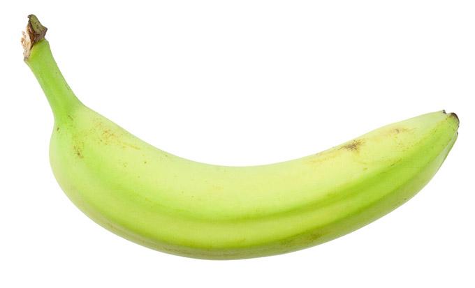 購入後すぐのバナナの画像