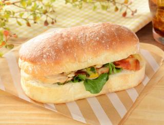 「チャバタの新作出た~! 即買い決定」 モチモチ食感のパン生地がやみつきになる「チャバタサンド」がローソンに新登場