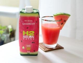 みずみずしくておいしい!毎朝飲みたい「H2COCO ウォーターメロン ウォーター」 #Omezaトーク