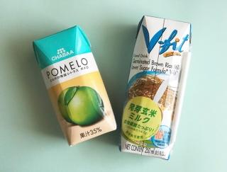 カルディで見つけた夏のおすすめドリンク!タイ発「ポメロ」&「ブラウンライスミルク」