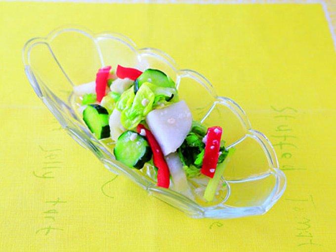 野菜の塩麹漬けの完成イメージ