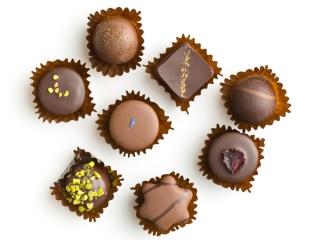 チョコレート数種類の集合
