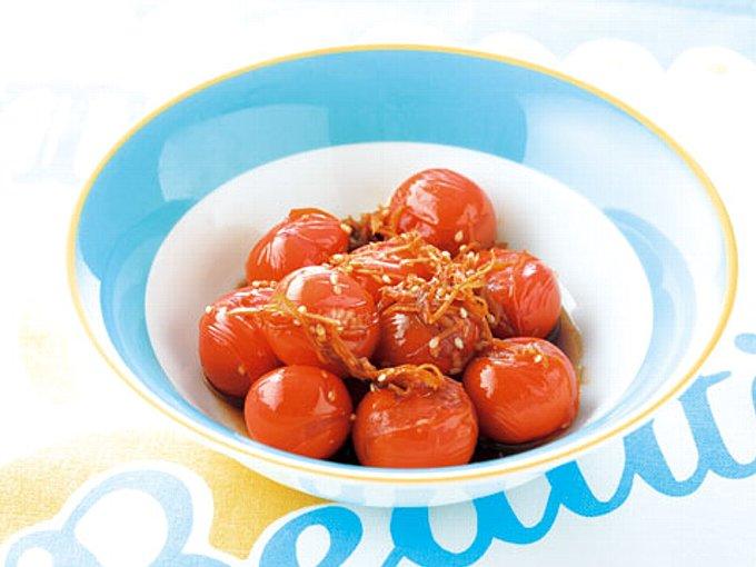 ミニトマトのきんぴらの完成イメージ