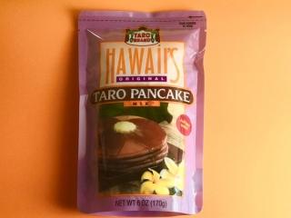 カルディのハワイタロパンケーキ