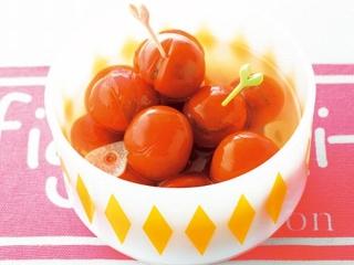 ミニトマトのピクルスの完成イメージ