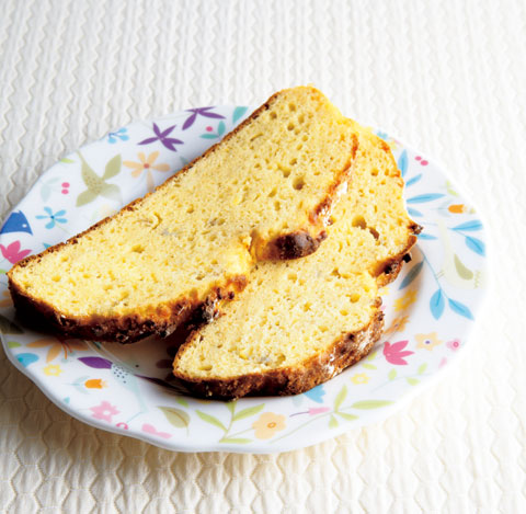 バナナ大豆粉パンの完成イメージ