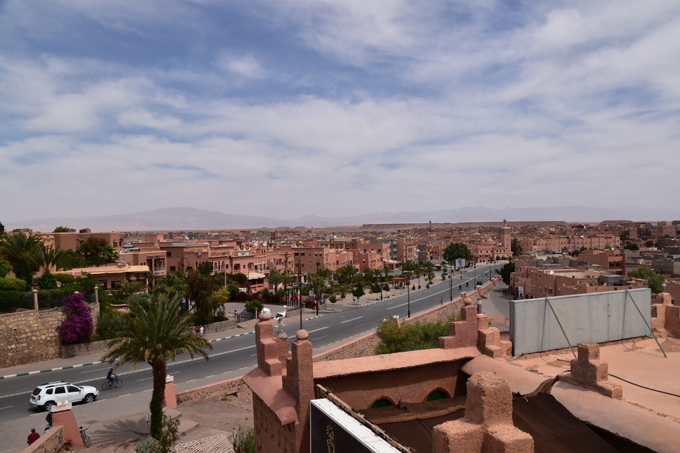モロッコ・ワルザザードの街並み
