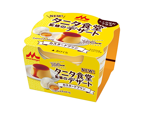 タニタ食堂監修のデザート (森永乳業)