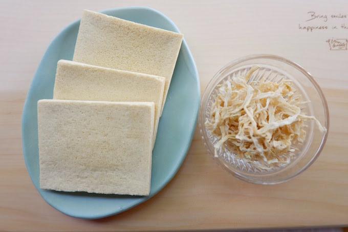 高野豆腐と切干し大根