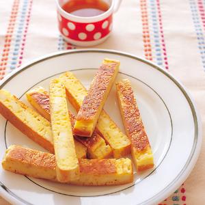 ごま&チーズのスティックケーキの完成イメージ