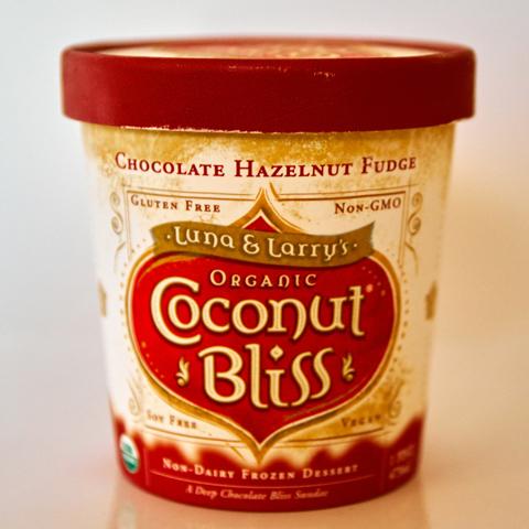 ココナッツミルク使用のアイスクリーム