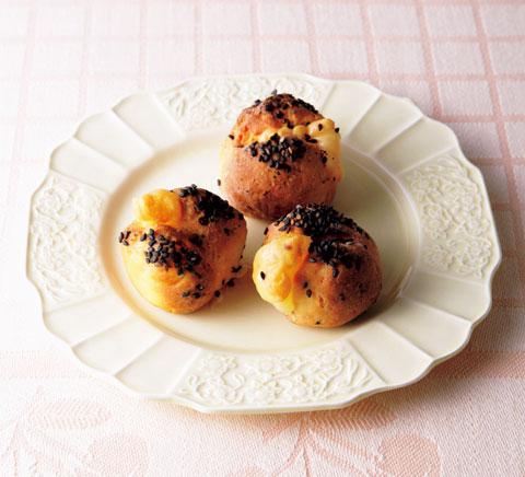 プチごまチーズ大豆パンの完成イメージ