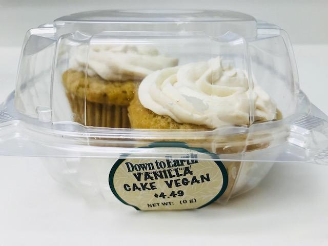 ダウントゥアースのヴィーガンカップケーキ