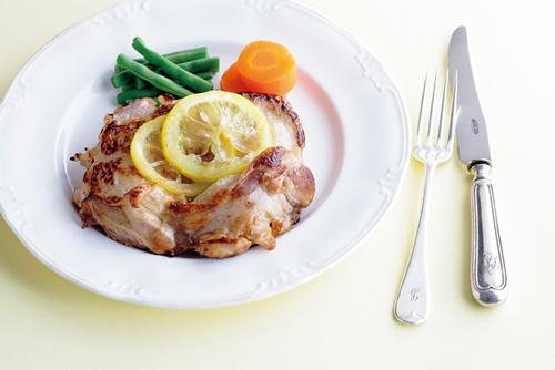 鶏肉のレモンマリネ焼き