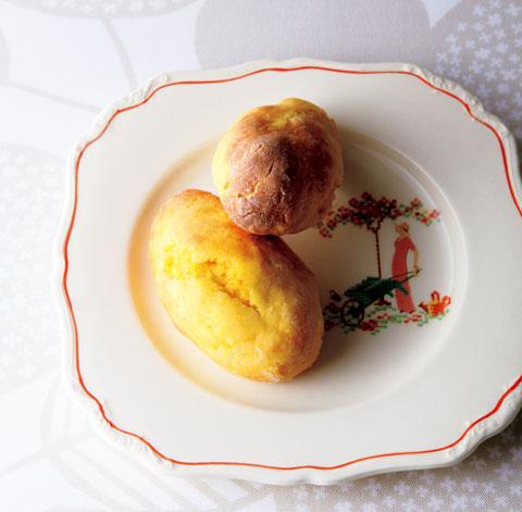 にんじん大豆粉パンの完成イメージ