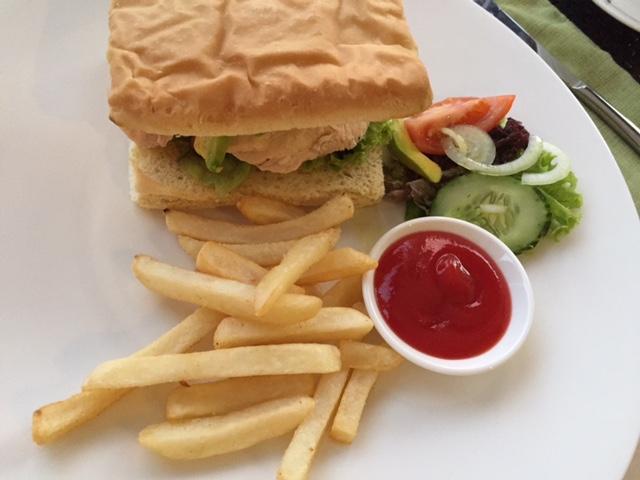 バリのハンバーガー