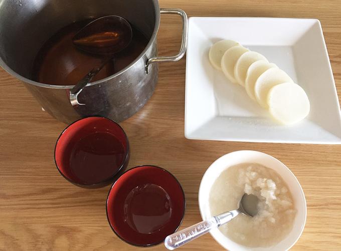 断食2日目のお昼のデトックススープ