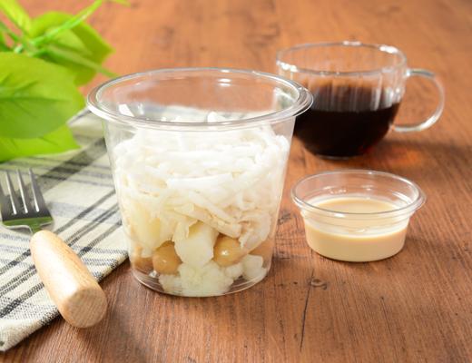 公式サイトで掲載された「白のまぜまぜサラダ」の画像