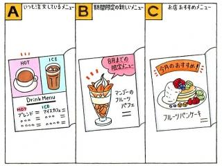 【心理テスト】カフェに来ました。あなたは何を注文しますか?