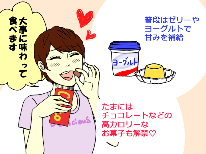ヨシエさんのダイエット法