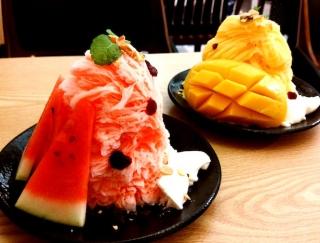 韓国で人気爆発のかき氷!ケーキみたいな「ホミビン」をレビュー #Omezaトーク