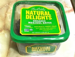 コストコでヘルシーおやつ!カリウムはバナナの約1.5倍!?「オーガニックデーツ」で夏バテ予防!
