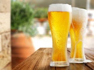 ビールが並んでいる写真