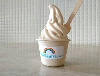超ヘルシー!ダイエット中でもOK「ナッツ×豆乳」のソフトクリーム #Omezaトーク