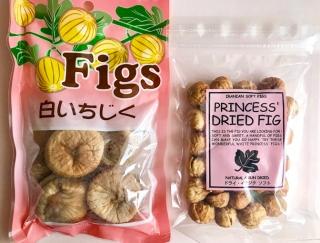 【カルディ】食物繊維とポリフェノール!中東産ドライイチジク大小を食べ比べ