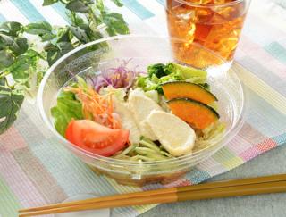 モチモチの麺に10種類の野菜が楽しめる!ローソンの「1食分の野菜が摂れるサラダラーメン」