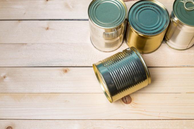 缶詰の集合体