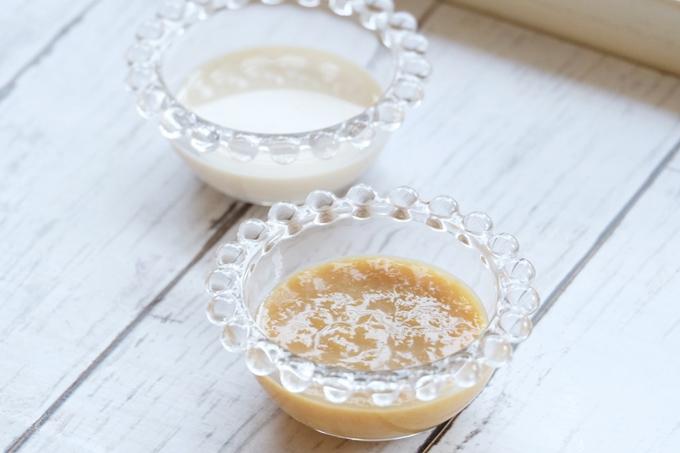 玄米甘酒と豆乳