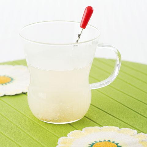 しょうがホットレモンの完成イメージ