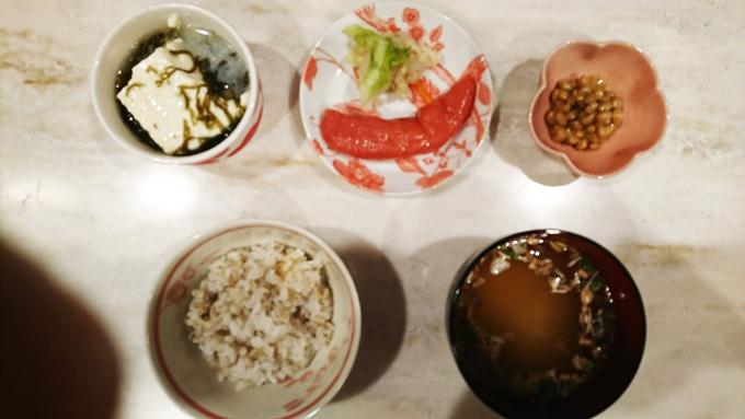 松村先生の和朝食