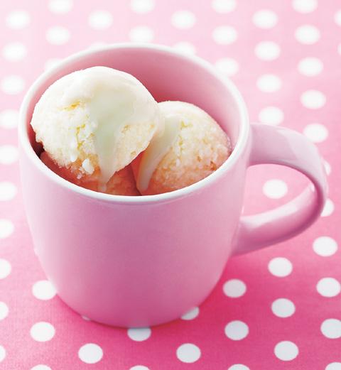 豆乳甘酒アイスの完成イメージ