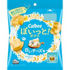 カルビー ぽいっと!ポテト白いチーズ味