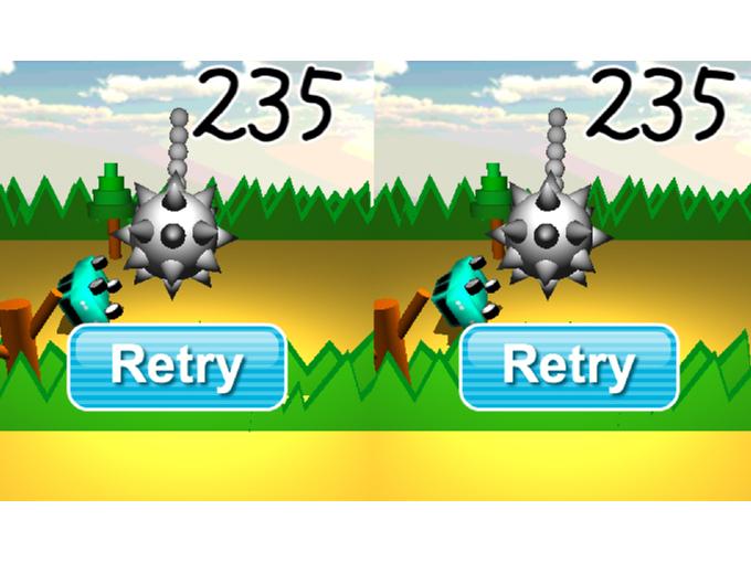 ゲームオーバー時の画像